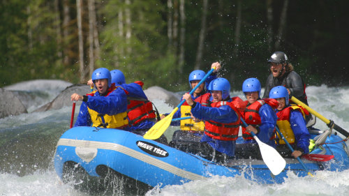 Class III Rafting Experience on Skykomish River