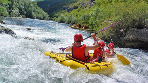 White-Water Rafting Experience on the Cetina River by Gray Line Croatia