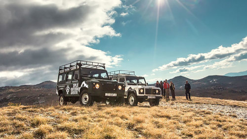 Kozjak Land Rover Safari by Gray Line Croatia