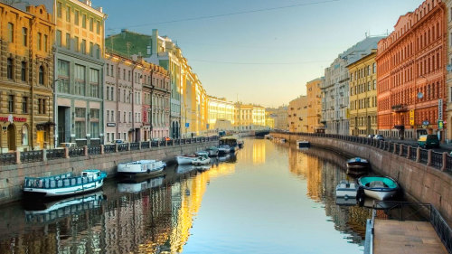 St Petersburg River & Canal Cruise