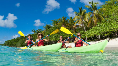 St John Kayaking, Hiking & Snorkeling Tour