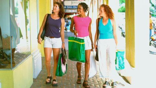 St Thomas City & Shopping Tour