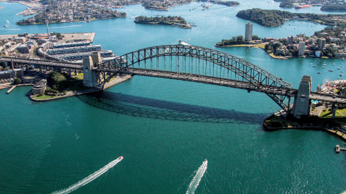 Private Helicopter Flight over Sydney Harbour