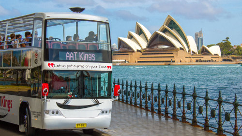 City Sightseeing Half-Day Tour by Double-Decker Coach by AAT Kings