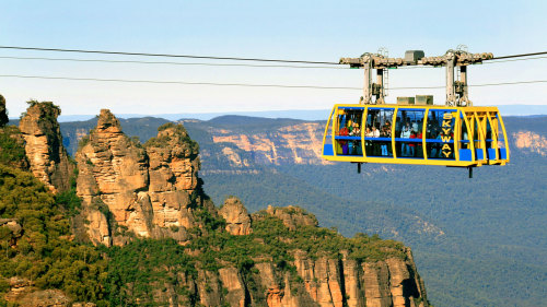 2-Tour Combo: City Tour with Lunch Cruise & Blue Mountains Tour