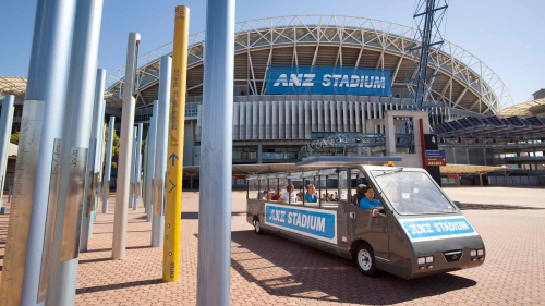 ANZ Stadium Guided Tour