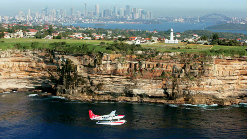 Seaplane Flight & Lunch at Cottage Point Inn by Sydney Seaplanes