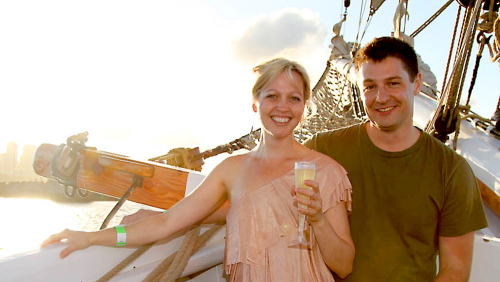 Tall Ship Wine & Canapés Cruise by Sydney Harbour Tall Ships