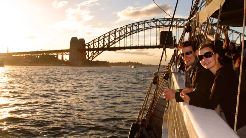 Tall Ship Twilight Dinner Cruise by Sydney Harbour Tall Ships