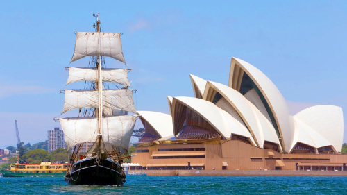 Tall Ship Afternoon Discovery Cruise by Sydney Harbour Tall Ships