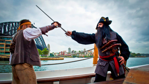 Attack of the Pirates Tall Ship Experience by Sydney Tall Ships