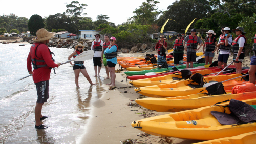 Bundeena Kayak Lesson by Bundeena Kayaks