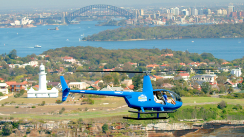 Grand City Helicopter Tour by Sydney Heli Tours