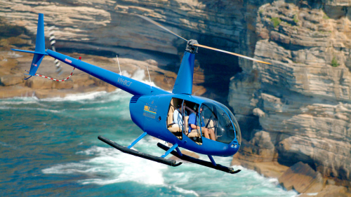 City Extreme Doors-Off Helicopter Flight by Sydney Heli Tours
