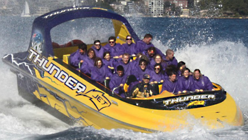 Thunder Twist Jet Boat Ride by Thunder Jet Boat