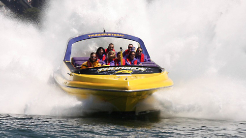 Extreme Jet Boat Ride by Thunder Jet Boat