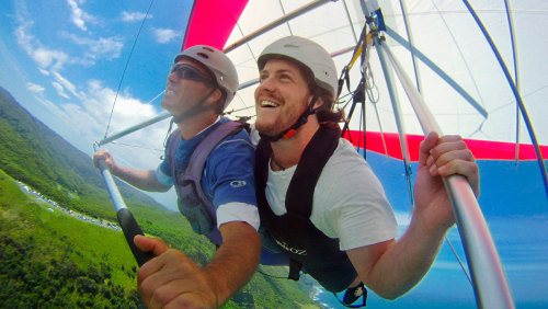 Stanwell Park Tandem Hang Gliding by HangglideOz