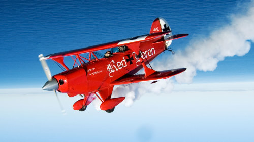 Aerobatics by The Red Baron
