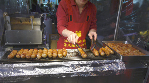 Small-Group Ningxia Night Market Tour by Urban Adventures