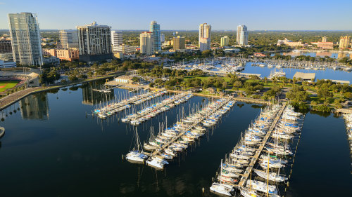 Downtown & Little Manatee River Helicopter Tour