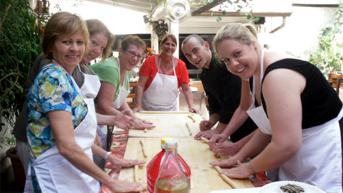 Half-Day Sicilian Cooking Class with Lunch & Wine