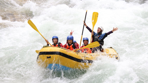 Whitewater Rafting on the Tone River by Canyons Ltd