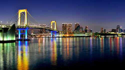 Shrine, Temple, Palace & Waterfront Full-Day Tour by Japan Oriental