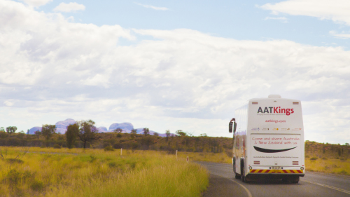 Shared Shuttle: Kings Canyon - Alice Springs by AAT Kings