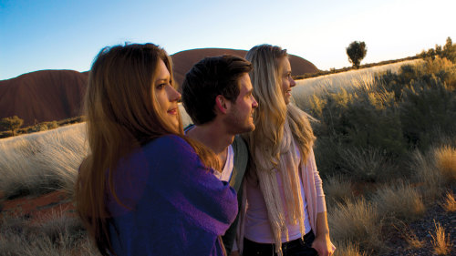 Uluru Sunrise & Sacred Sites Half-Day Tour by AAT Kings