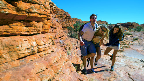 Kings Canyon Scenic Climb Half-Day Tour by AAT Kings