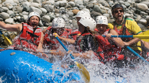 Chilliwack River Rafting with Class III & Class IV Rapids