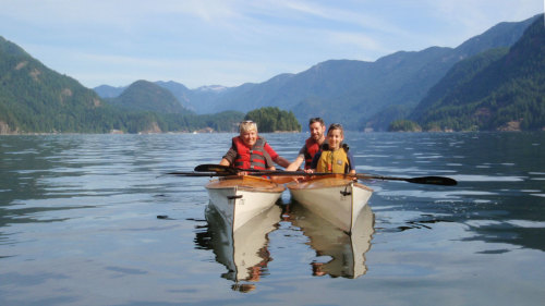 Sea Kayaking Adventure & Barbecue at Indian Arm
