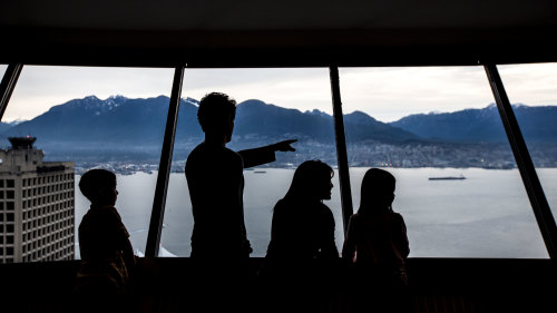Vancouver Lookout Observation Deck