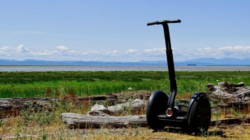 Segway Tour of Roberts Bank Wildlife Management Area