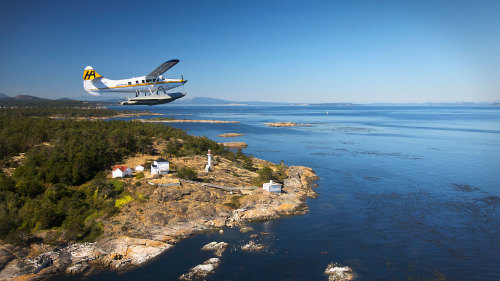 Harbour Air Seaplanes: Victoria Aerial Tour