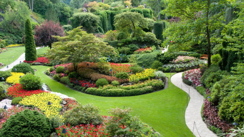 Fly & Dine at Butchart Gardens