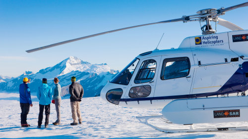 Mount Aspiring & Glacier Scenic Helicopter Flight