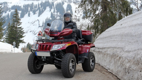 Blackcomb Peak ATV Tour – Beginner Level