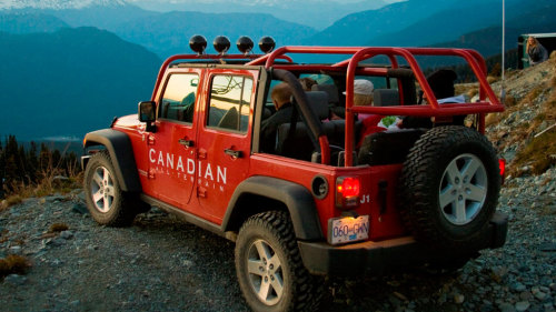 Blackcomb Glacier Jeep® Safari