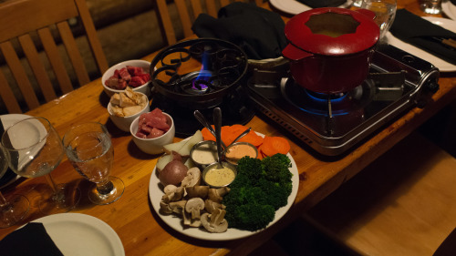 Mountaintop Fondue Dinner via Snowmobile or Snowcat