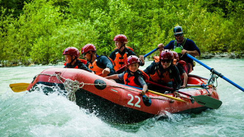 Cheakamus River Rafting