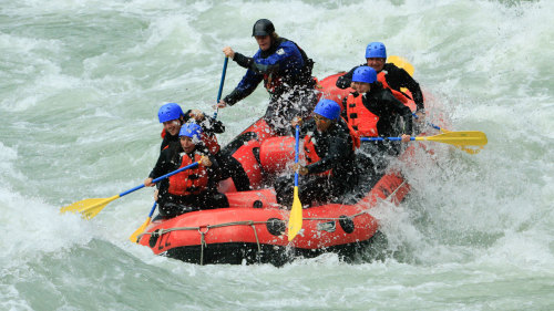 Elaho-Squamish River Rafting
