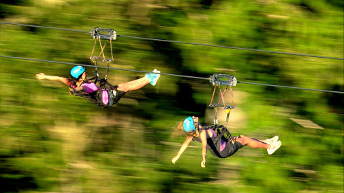 Superfly Guided Zipline Tour