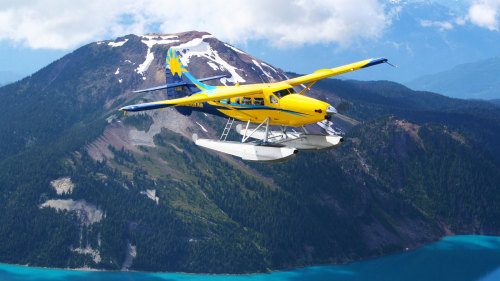 Grand Aerial Tour of Whistler & Pemberton Ice Cap by Seaplane