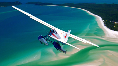 Whitehaven Beach Experience by Seaplane