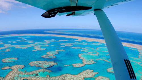 Great Barrier Reef & Whitsunday Islands Scenic Flight