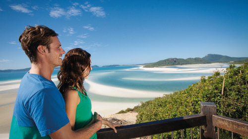 Full-Day Whitehaven Beach & Hill Inlet Cruise