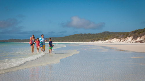 Whitsunday Island & Whitehaven Beach Half-Day Cruise