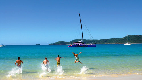 3-Day Reef & Whitehaven Tour for 2 by Cruise Whitsundays