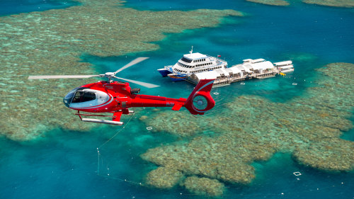 Great Barrier Reef Scenic Helicopter Flight